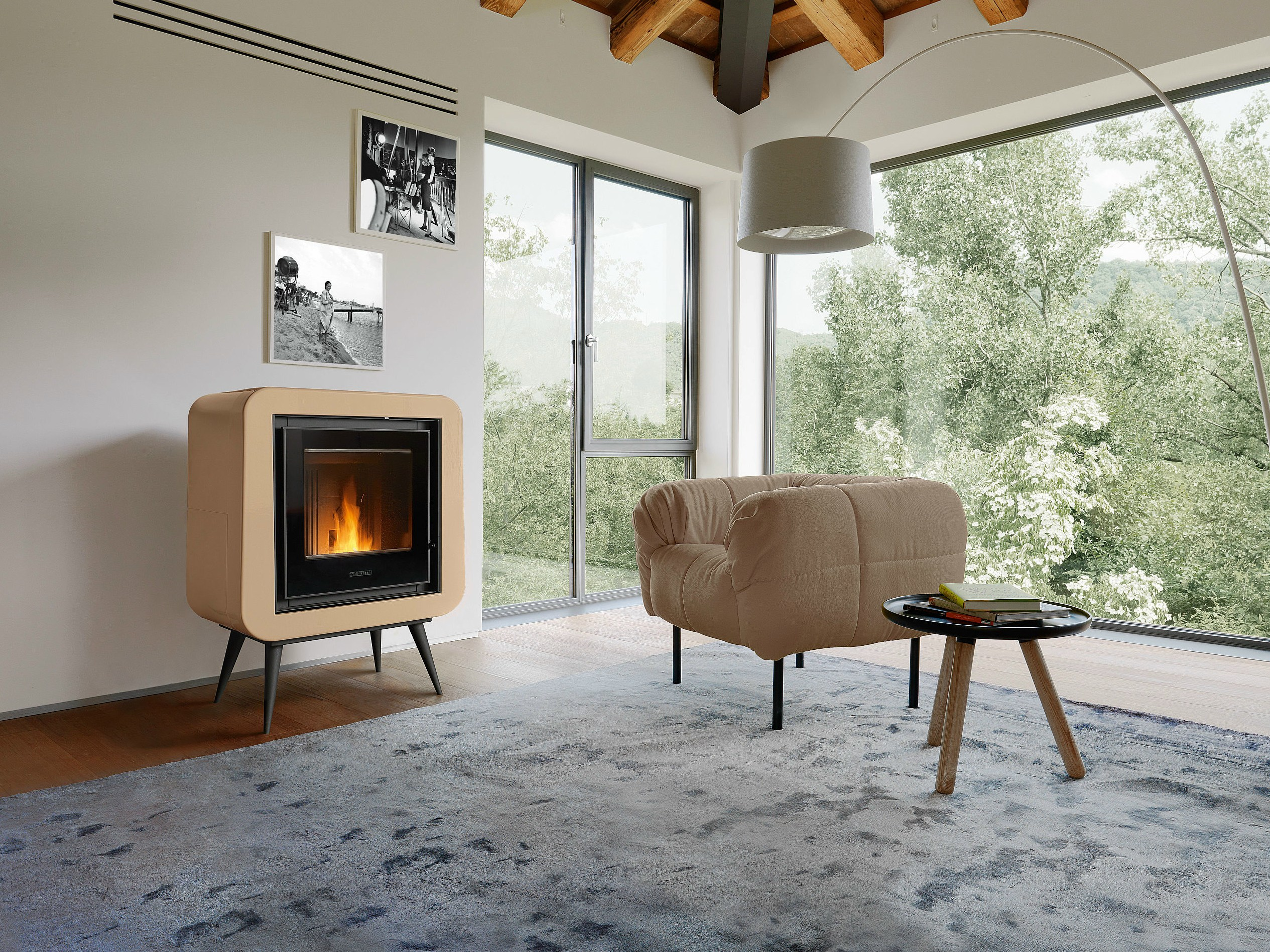 La quiete del calore unico people style - Stufe a pellet silenziose ...