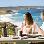 Lunch at Southern Ocean Lodge, Kangaroo Island