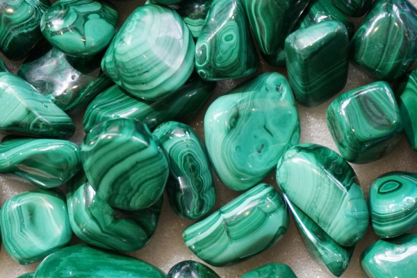 malachite collection texture as nice mineral background
